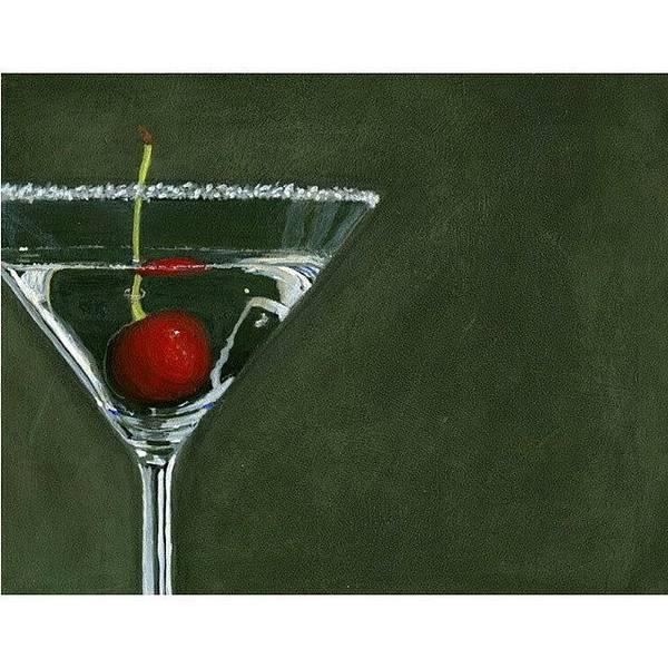 Martini Wall Art - Photograph - Happy by Karyn Robinson
