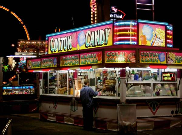 Carnies Photograph - Happy Meals by Odd Jeppesen
