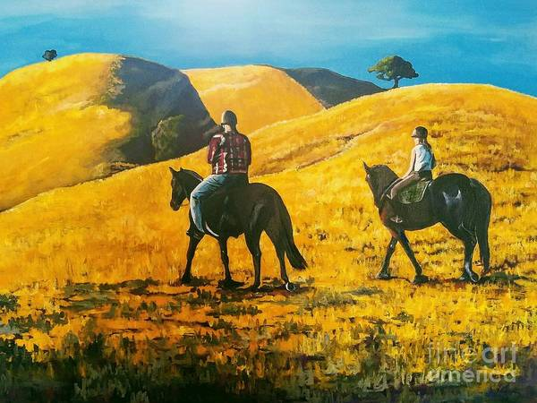 Painting - Happy Memories by Kathy Laughlin
