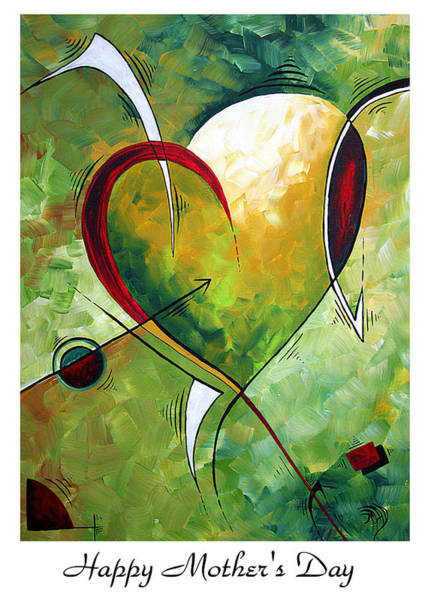 Wall Art - Painting - Happy Mother's Day By Madart by Megan Duncanson