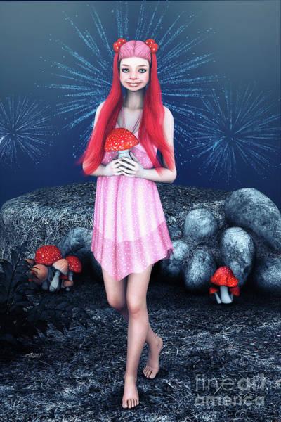 Digital Art - Happy New Year by Jutta Maria Pusl