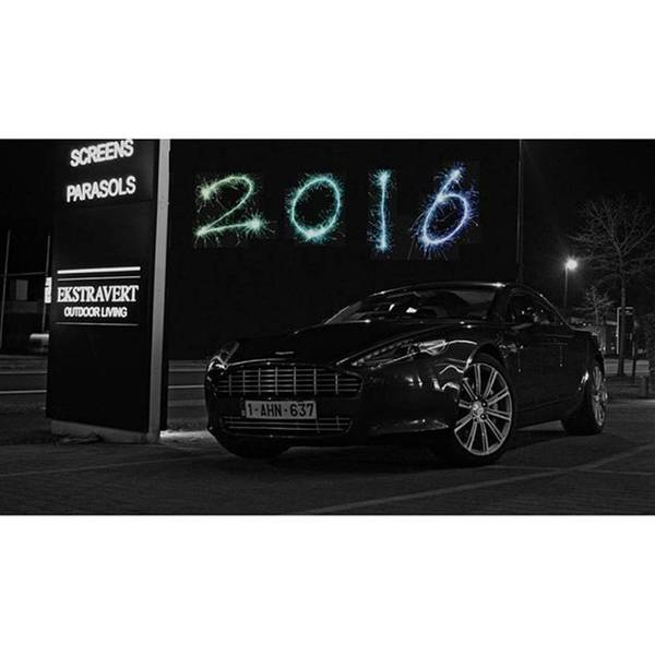 Aston Martin Photograph - Happy New Year To All Of You, I Wish by Sportscars OfBelgium