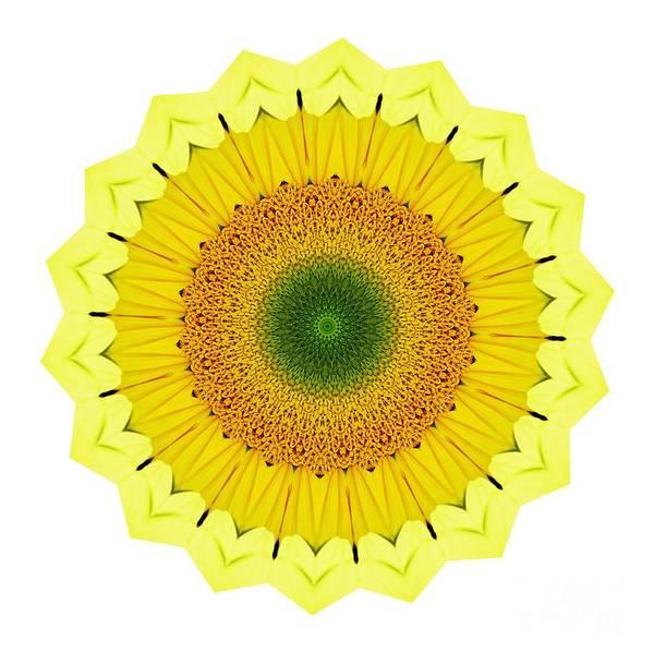 Wall Art - Photograph - Happy Sunflower Mandala By Kaye Menner by Kaye Menner