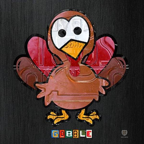 Wall Art - Photograph - Happy Thanksgiving!  #turkey by Design Turnpike
