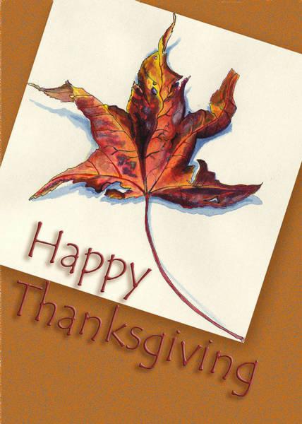 Painting - Happy Thansgiving by Thomas Lupari