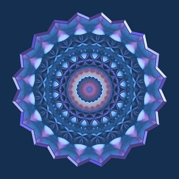 Digital Art - Happy To Be Blue by Lynde Young