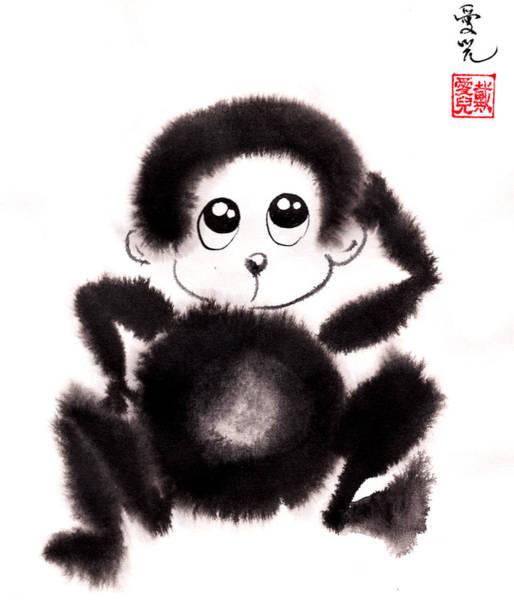 Happy Year Of The Monkey Art Print