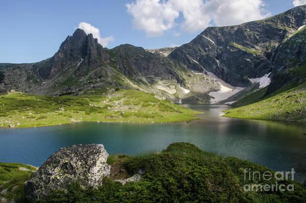 Photograph - Haramiya Mountain-twin Lake-1 by Steve Somerville