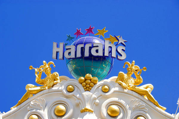 Harrahs Photograph - Harrah's Las Vegas by David Lee Thompson