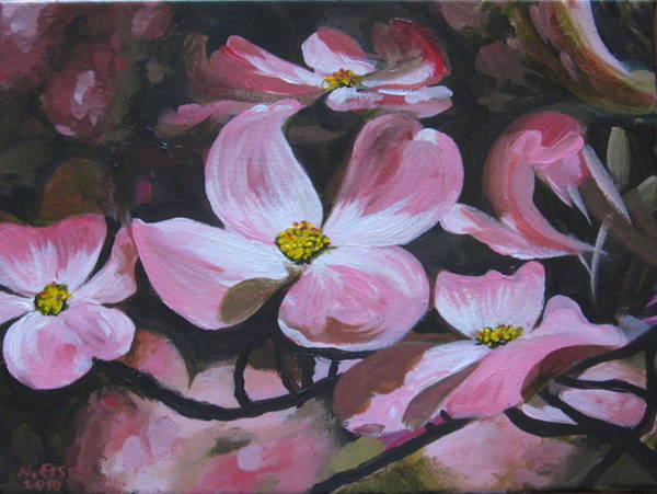 Painting - Harbinger Of Spring by Outre Art  Natalie Eisen