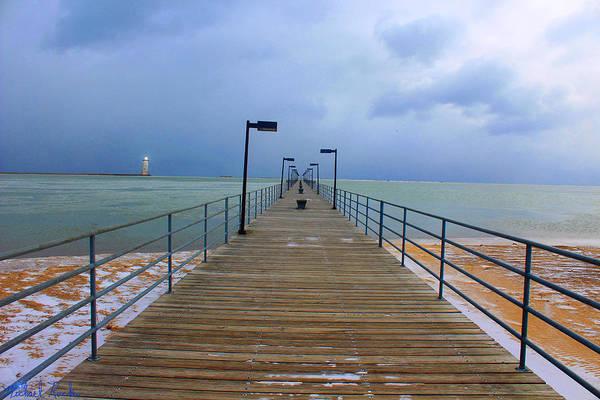 Lighthouse Wall Art - Photograph - Harbor Beach Lighthouse by Michael Rucker