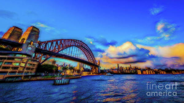 Wall Art - Photograph - Harbor Bridge by Perry Webster