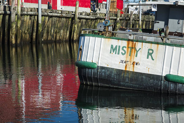 Photograph - Harbor Color by Robert Potts