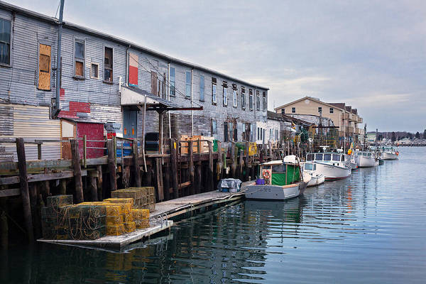 Wall Art - Photograph - Harbor Fish Market by Eric Gendron