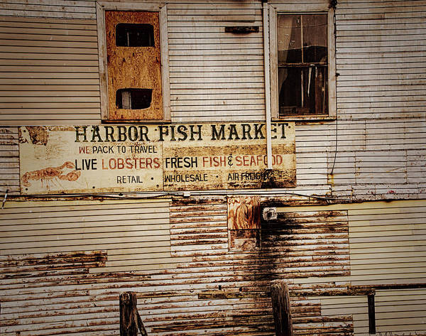Photograph - Harbor Fish Market by Mick Burkey