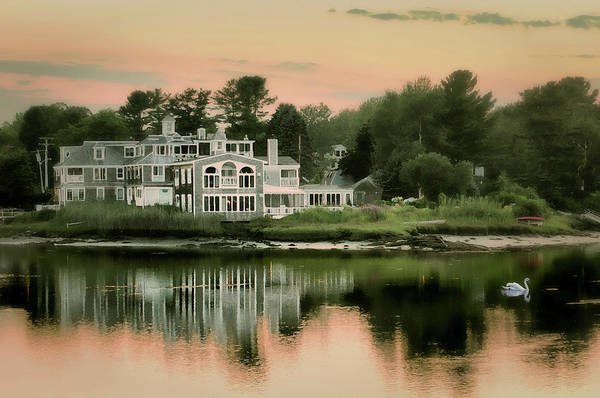 Wall Art - Photograph - Maine's Harbor Home by Diana Angstadt