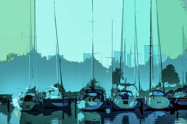 Photograph - Harbor Impression by Michael Arend