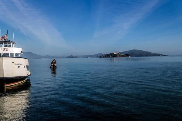 Photograph - Harbor King Alcatraz by Michael Hope