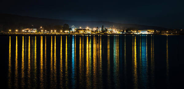 Photograph - Harbor Lights by Rikk Flohr