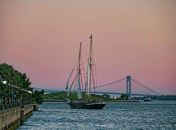 Photograph - Harbor Mastery by S Paul Sahm
