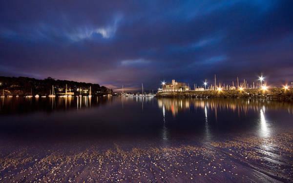Sunset Digital Art - Harbor by Maye Loeser