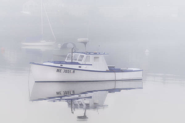 Wall Art - Photograph - Harbor Mist   by T-S Fine Art Landscape Photography
