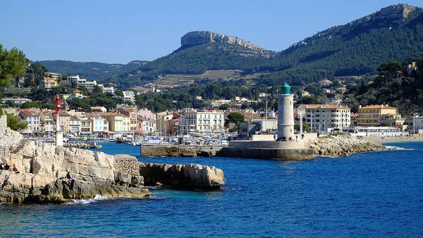 Photograph - Harbor Of Cassis by August Timmermans