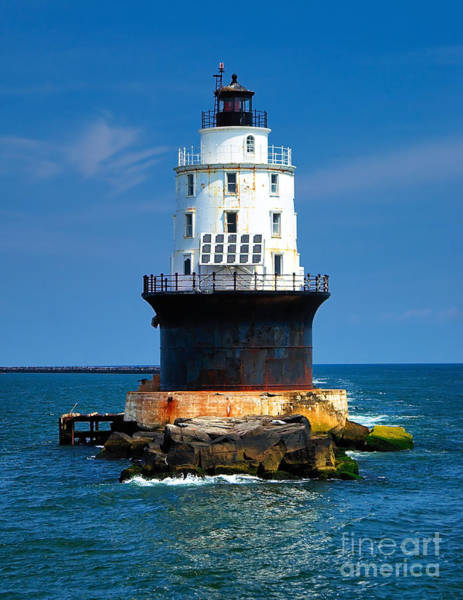Photograph - Harbor Of Refuge Lighthouse by Nick Zelinsky