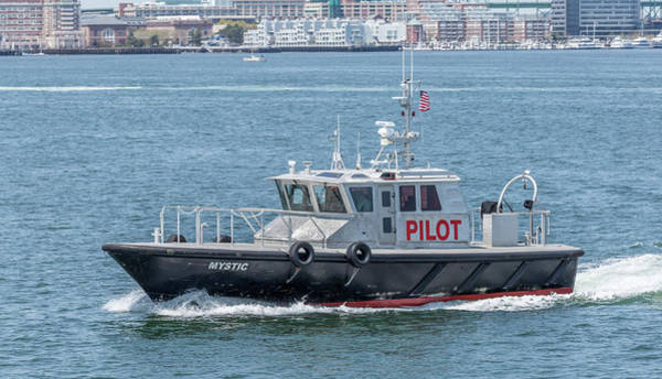 Photograph - Harbor Pilot Boat by Brian MacLean