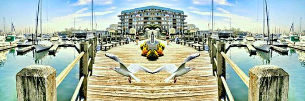 Stamford Wall Art - Photograph - Stamford Landing Marina by Diana Angstadt
