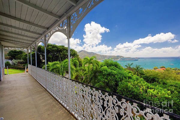 Wall Art - Photograph - Harbor View From A  Balcony by George Oze