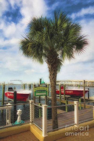 Photograph - Harbor Walk At Destin Florida # 2 by Mel Steinhauer