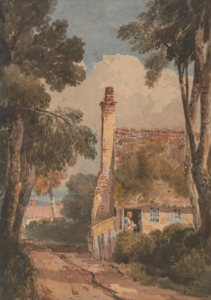 Painting - Harborne by David Cox