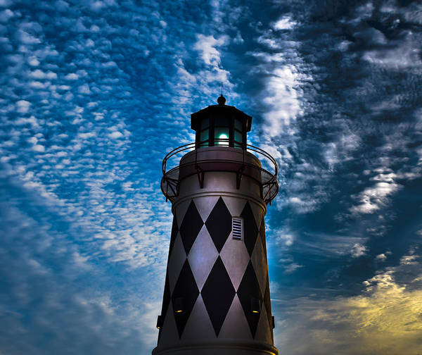 Photograph - Harborwalk Lighthouse by Keith Smith