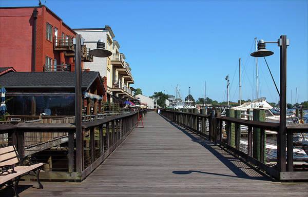 Photograph - Harborwalk View by Cynthia Guinn