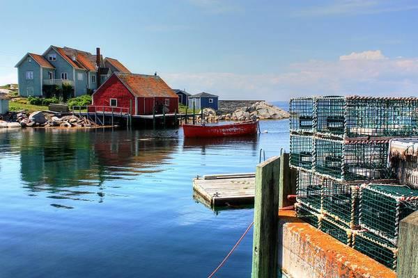 Photograph - Harbour Home by David Matthews