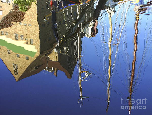 Photograph - Harbour Reflection by Sascha Meyer