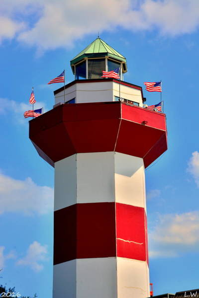 Wall Art - Photograph - Harbour Town Lighthouse 2 by Lisa Wooten