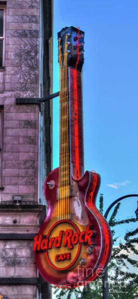 Photograph - Hard Rock Cafe Atlanta Downtown Atlanta  Art by Reid Callaway
