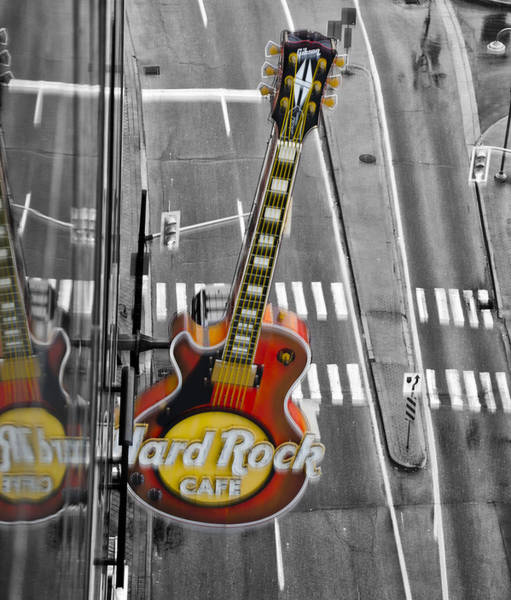 Photograph - Hard Rock Cafe - Niagara Falls Canada by Bill Cannon
