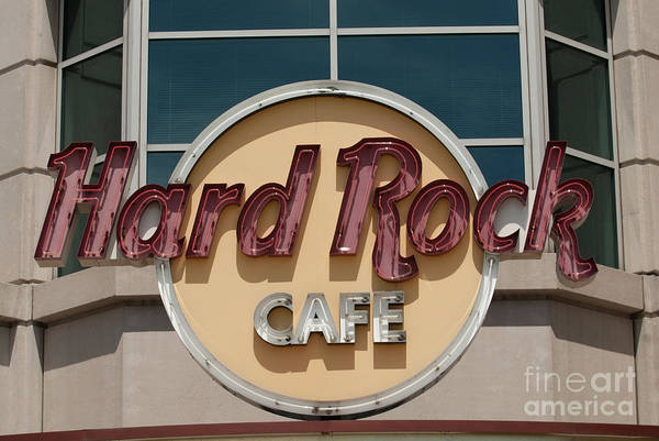 Hard Rock Cafe Art Print