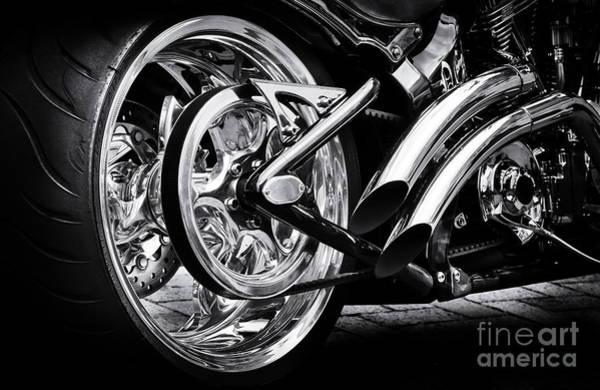 Chopper Photograph - Hardtail by Tim Gainey