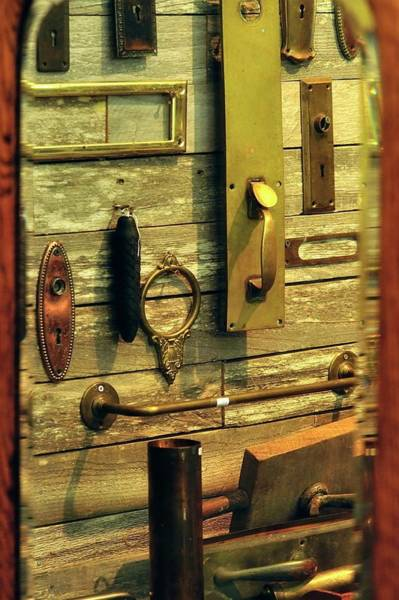 Photograph - Hardware by Jerry Sodorff