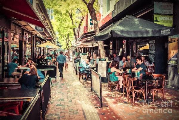 Photograph - Hardware Lane South, Melbourne Australia  Rvr1rw by Ray Warren