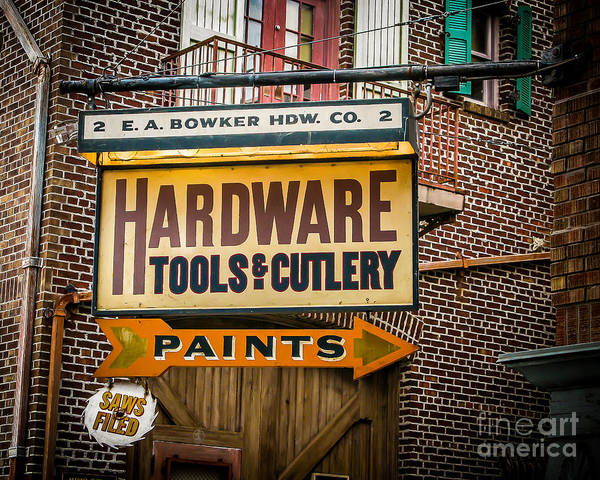 Wall Art - Photograph - Hardware by Perry Webster