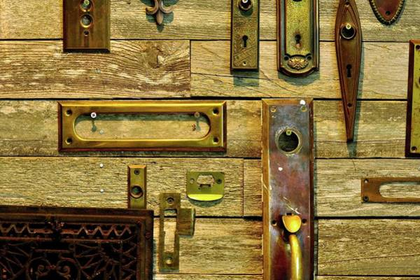 Photograph - Hardware Two by Jerry Sodorff