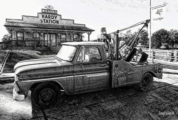 Photograph - Hardy Station by Wesley Nesbitt