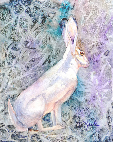 Painting - Hare by Marsha Karle