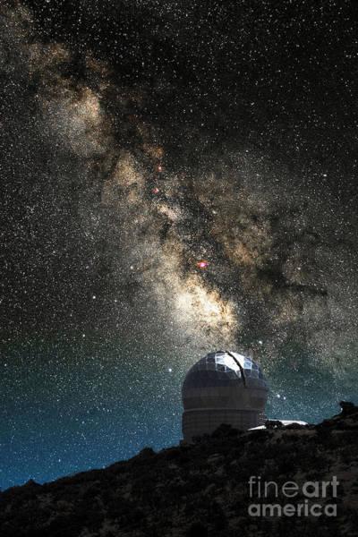 Photograph - Harlan J. Smith Telescope by Larry Landolfi