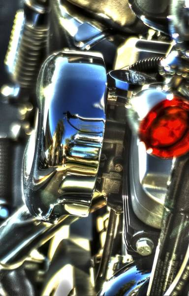 Photograph - Harley 25792 by Jerry Sodorff
